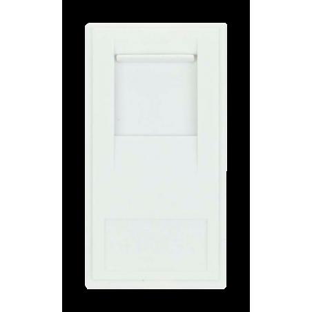 Click MM485WH Socket RJ45 Cat6 White