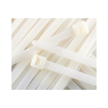 SWA CT200-4.8N Cable Tie Natural Nylon Pack of 100