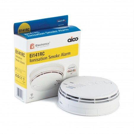 Aico Ei141RC Mains powered Ionisation Smoke Alarm