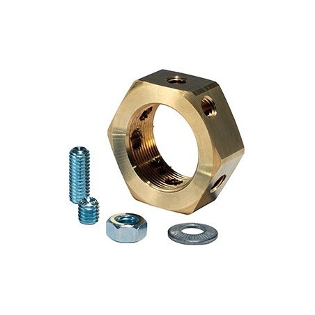 SWA BELN20-PK10 Lock Nut 20mm Brass Pack of 10 SWA - 2