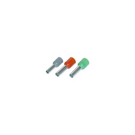 SWA 1.0-8IBLF/T Boot Lace Ferrule Red Pack of 100