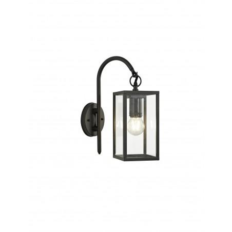 Cielo Downward Wall Lamp, 1 x E27, IP54, Graphite Black, 2yrs Warranty DELight - 1