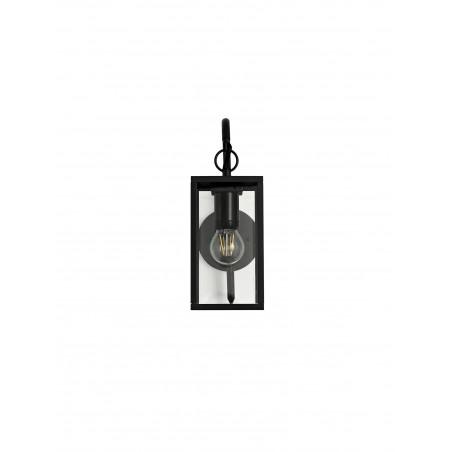 Cielo Downward Wall Lamp, 1 x E27, IP54, Graphite Black, 2yrs Warranty DELight - 4