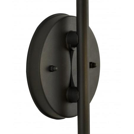 Cielo Downward Wall Lamp, 1 x E27, IP54, Graphite Black, 2yrs Warranty DELight - 5