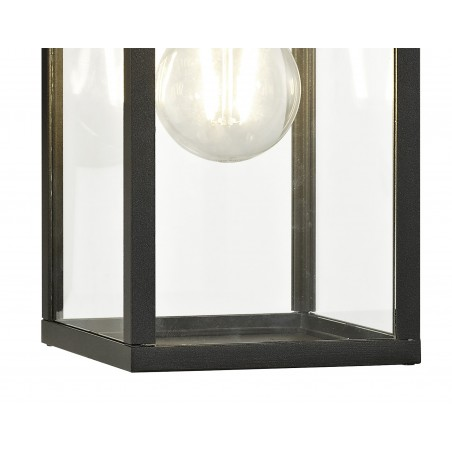 Cielo Downward Wall Lamp, 1 x E27, IP54, Graphite Black, 2yrs Warranty DELight - 6
