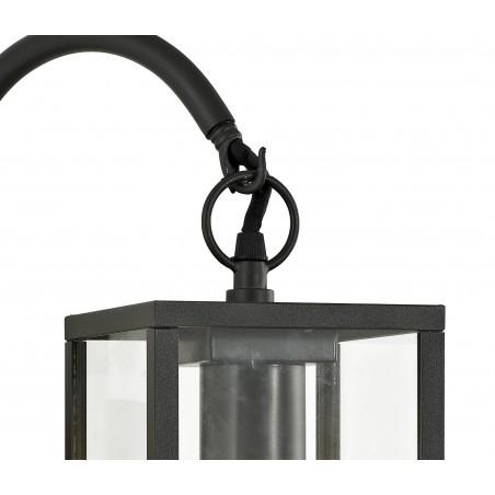 Cielo Downward Wall Lamp, 1 x E27, IP54, Graphite Black, 2yrs Warranty DELight - 7