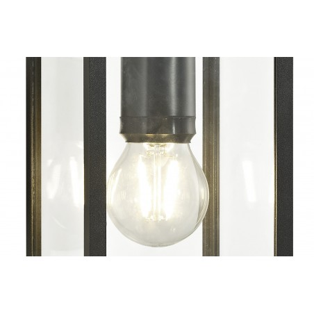 Cielo Downward Wall Lamp, 1 x E27, IP54, Graphite Black, 2yrs Warranty DELight - 8