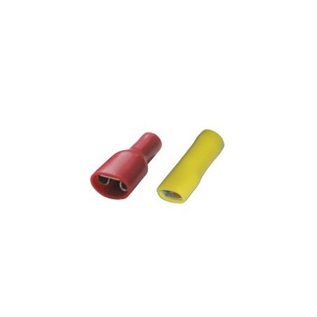 SWA 48RFPT Fem Push-On Terminal 0.5-1.5mm Red Pack of 100