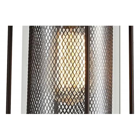 Dawn Pendant, 1 x E27, Antique Bronze/Clear Glass, IP54, 2yrs Warranty DELight - 9