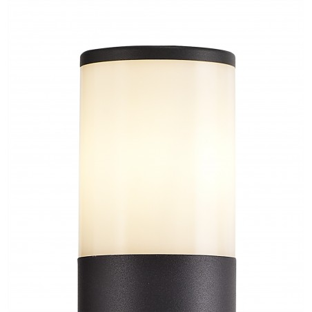 Divina 90cm Post Lamp 1 x E27, IP54, Anthracite/Opal, 2yrs Warranty DELight - 5