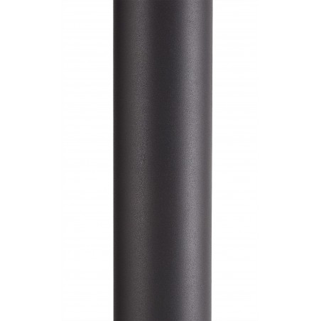 Divina 90cm Post Lamp 1 x E27, IP54, Anthracite/Opal, 2yrs Warranty DELight - 6