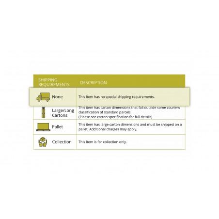 Leda Wall Lamp, 1 Light E27, IP65, Matt Black/Antique Brass, 2yrs Warranty DELight - 11
