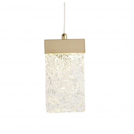Lyra Pendant Round 5M, 21 x 4.5W LED, 3000K, 3360lm, Painted Brushed Gold, 3yrs Warranty DELight - 6