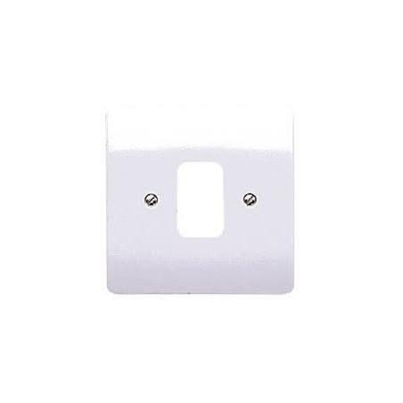 MK K3631WHI 1 gang 1 Module White Grid Plate
