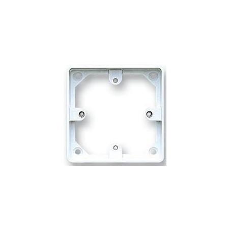 MK K2134WHI 1 Gang 20mm White Surface Box