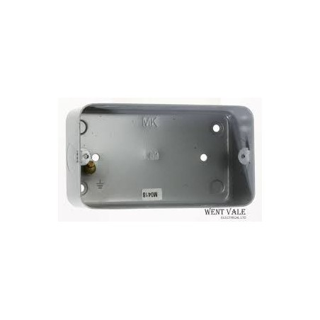 MK 892ALM 3/4 Gang Flush Box with Knockouts