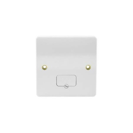 MK K337WHI 13A White Unswitched Fused Connection Unit