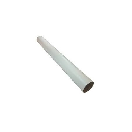 Greenwood GD413 100mm x 1.5m Round Duct PVC White