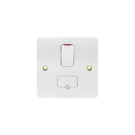 MK K330WHI 13A White Switched Fused Connection Unit with Flex Outlet