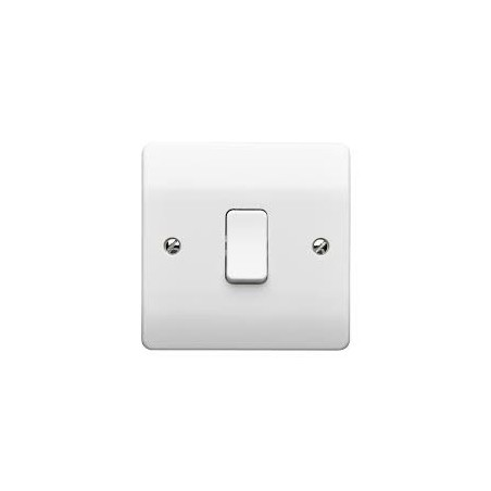 MK K4875WHI  1 Gang 10A White Intermediate Switch