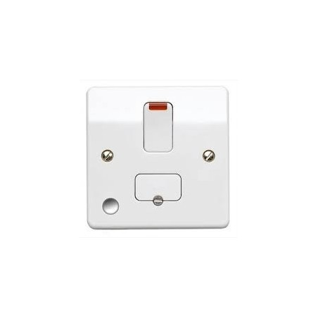 MK K1030WHI 13A White Switched Fused Connection Unit with Flex Outlet