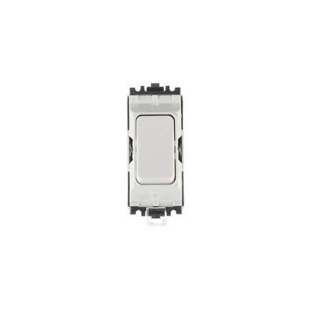 MK K4893WHI 20A Intermediate White Grid Switch