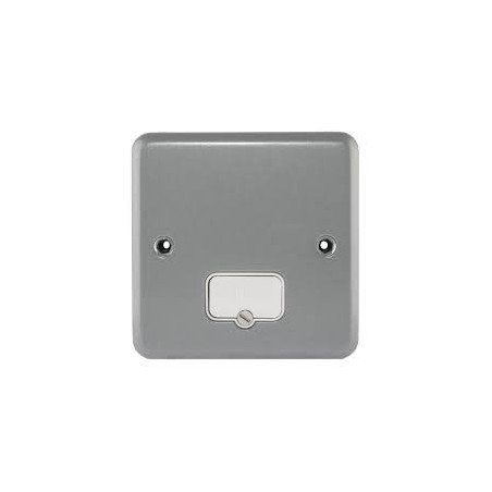MK K954ALM 13A Metal Unswitched Fused Connection Unit