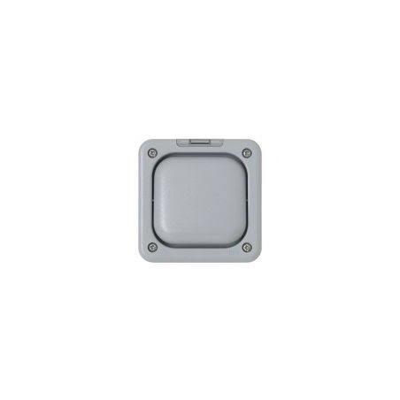 MK K56401GRY 10A 1 Gang 2 Way Single Pole Masterseal Switch IP66 Grey