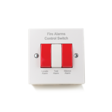 Aico Ei1529RC Hard Wired Alarm Control Switch Front