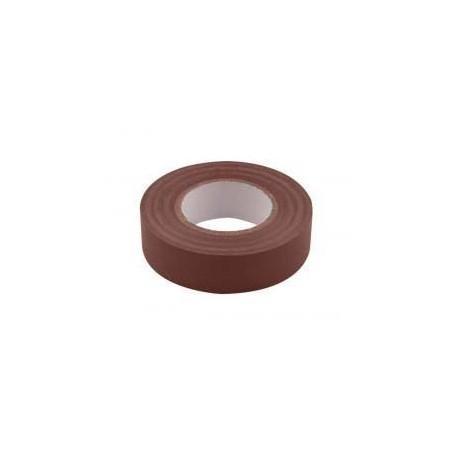 Unicrimp 1933BR 19mmx33m Brown PVC Insulation Tape 19mm x 33m
