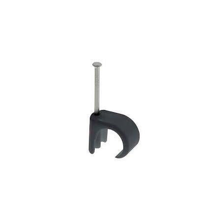 Unicrimp QRC13 14mm-20mm Black Round Cable Clip Box of 50