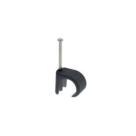 Unicrimp QRC4 5mm-7mm Black Round Cable Clip Box of 100