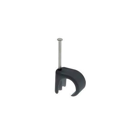 Unicrimp QRC7 7mm-10mm Black Round Cable Clip Box of 100