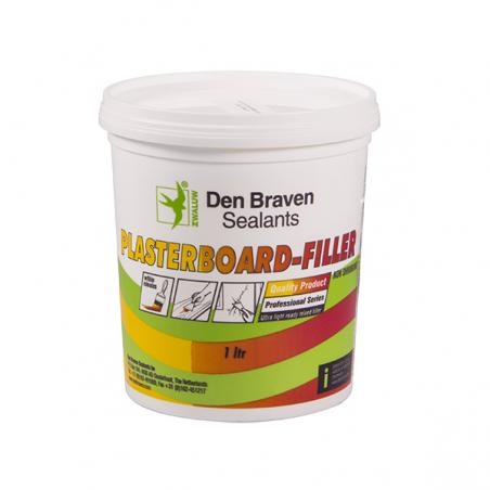 Unicrimp ZPBF1L 1 Litre White Instant Plaster/Filler