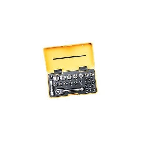 "CK T4654 Pocket Socket Set 1/4"" Drive"