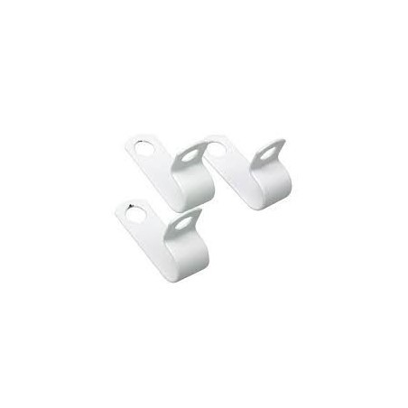 SWA RCHJ30-50WHI Clip Plastic Coated Pack of 50