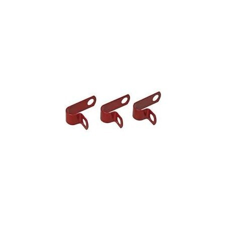 WA RCHJ30-50RED Clip Plastic Coated Pack of 50