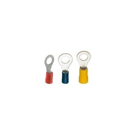 SWA 65RER Ring Terminal 0.5-1.5mm Red Insulated Pack of 100