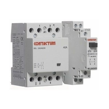 Contactum COA63-40/230 63A 4 Normal Open Din Rail Mounted Contactor