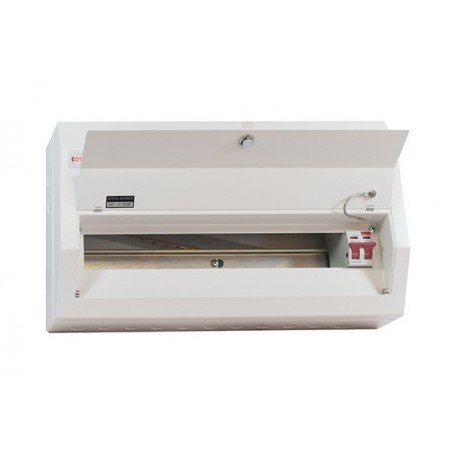 Contactum DD201MS 20 Way Metal Consumer Unit with 100A Switch Disconnector - Defender 18th Edition