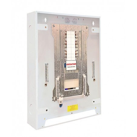 Contactum DDB125PIR08 8 Way 3 Phase TP&N Distribution Board