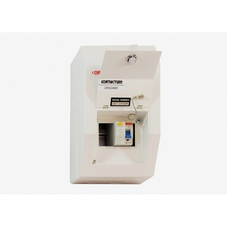 Contactum DR026MS 2 Way Metal Consumer Unit with 63A RCD - Defender 18th Edition