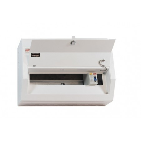 Contactum DR168MS 16 Way Metal Consumer Unit with 80A RCD - Defender 18th Edition