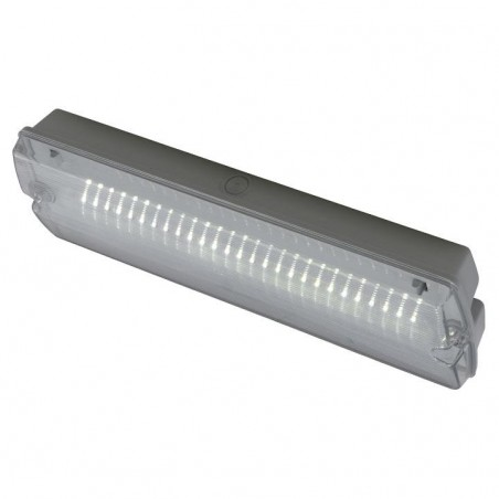 Ansell AGLED/3M 3W Guardian Emergency LED Maintained / Non-Maintained Bulkhead White
