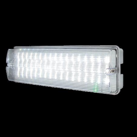 Knightsbridge EMLED1 230V IP65 6W LED Emergency Bulkhead (maintained/non-maintained)