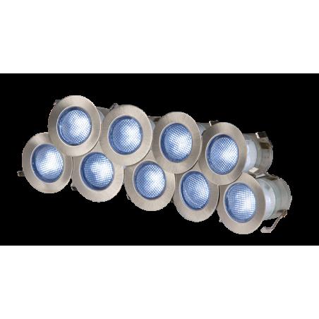Knightsbridge KIT16B IP65 230V 10x 0.2w Blue LED Kit