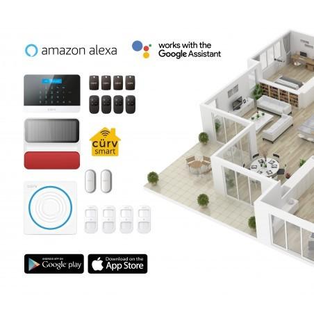 Curv360 Wireless Security Home Alarm Kit-2