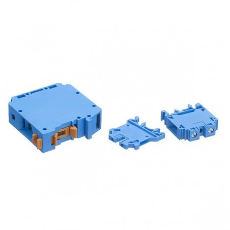 Europa CTS6UNBLUE 6mm Blue Din RailScrew Clamp Terminal