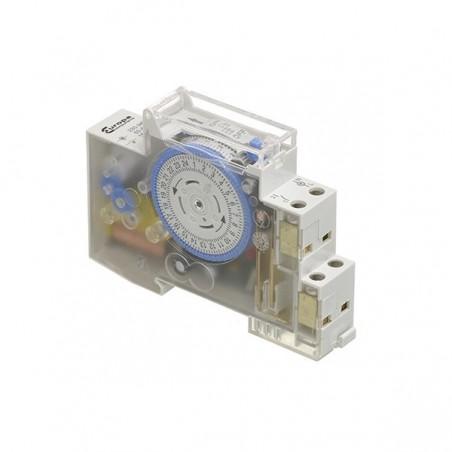 Europa ET1624HEA 16A Din Rail Analogue Clock 1 Module
