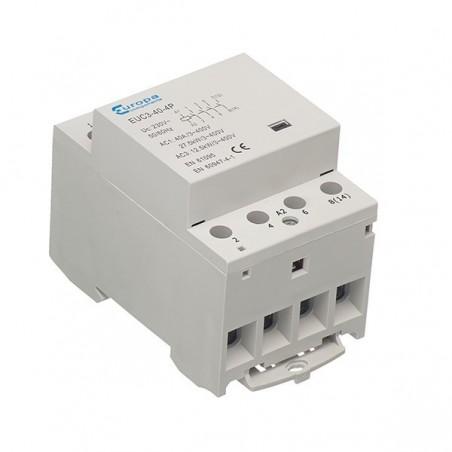 Europa EUC3-63-4P 63A 4 N/O (Normal Open) Modular Contactor